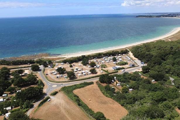 Camping Municipal du Kerver Vue-a�rienne-camping-municipal-du-kerver-saint-gildas-de-rhuys-morbihan-bretagne sud