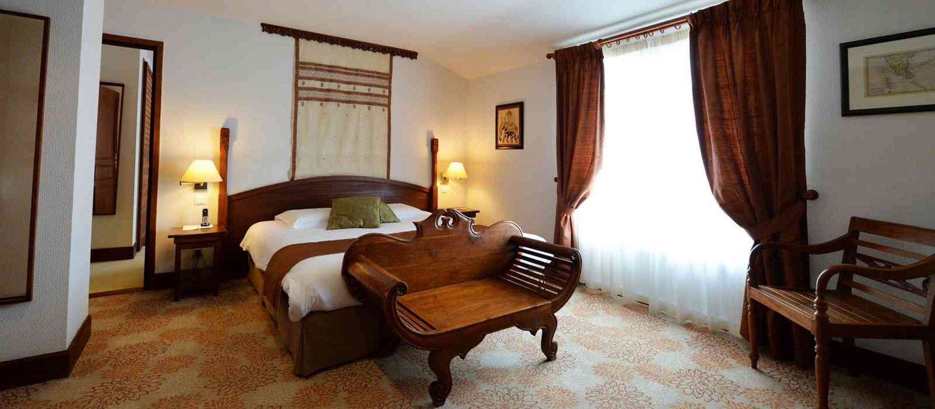 chambre Deluxe 25m2 jardin © hotel-villa-kerasy-vannes