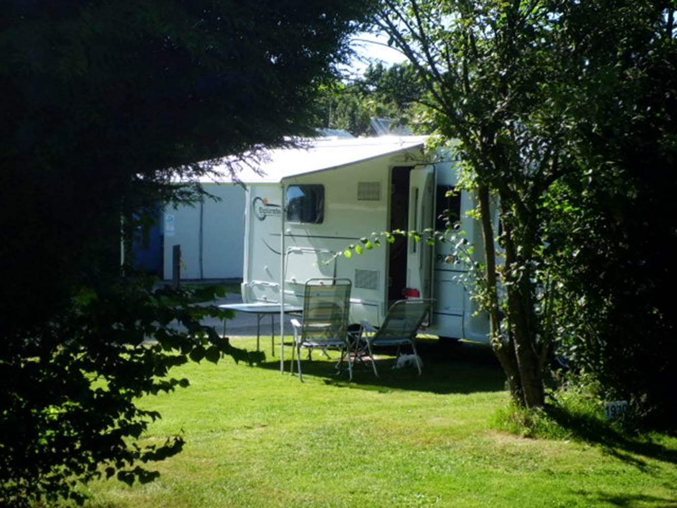 Camping des cerisiers © Mme Thimouy