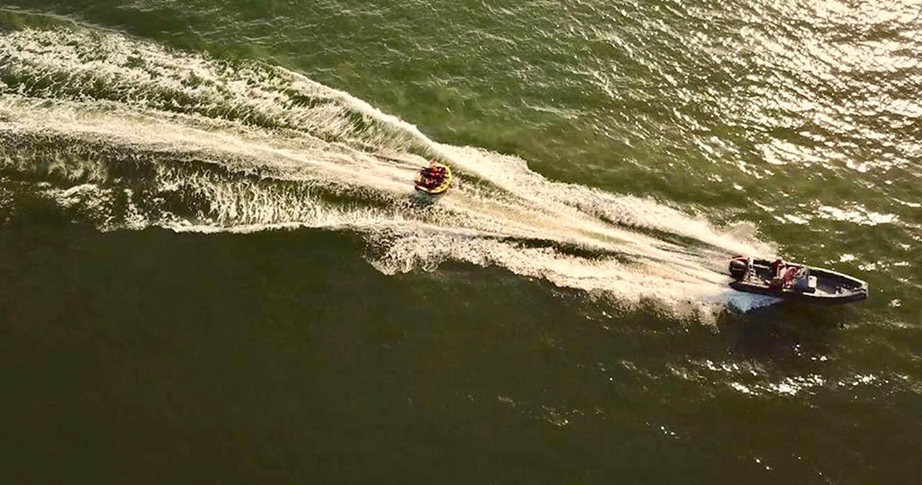 Vince Surf VSD bouée tractée Damgan Morbihan ©