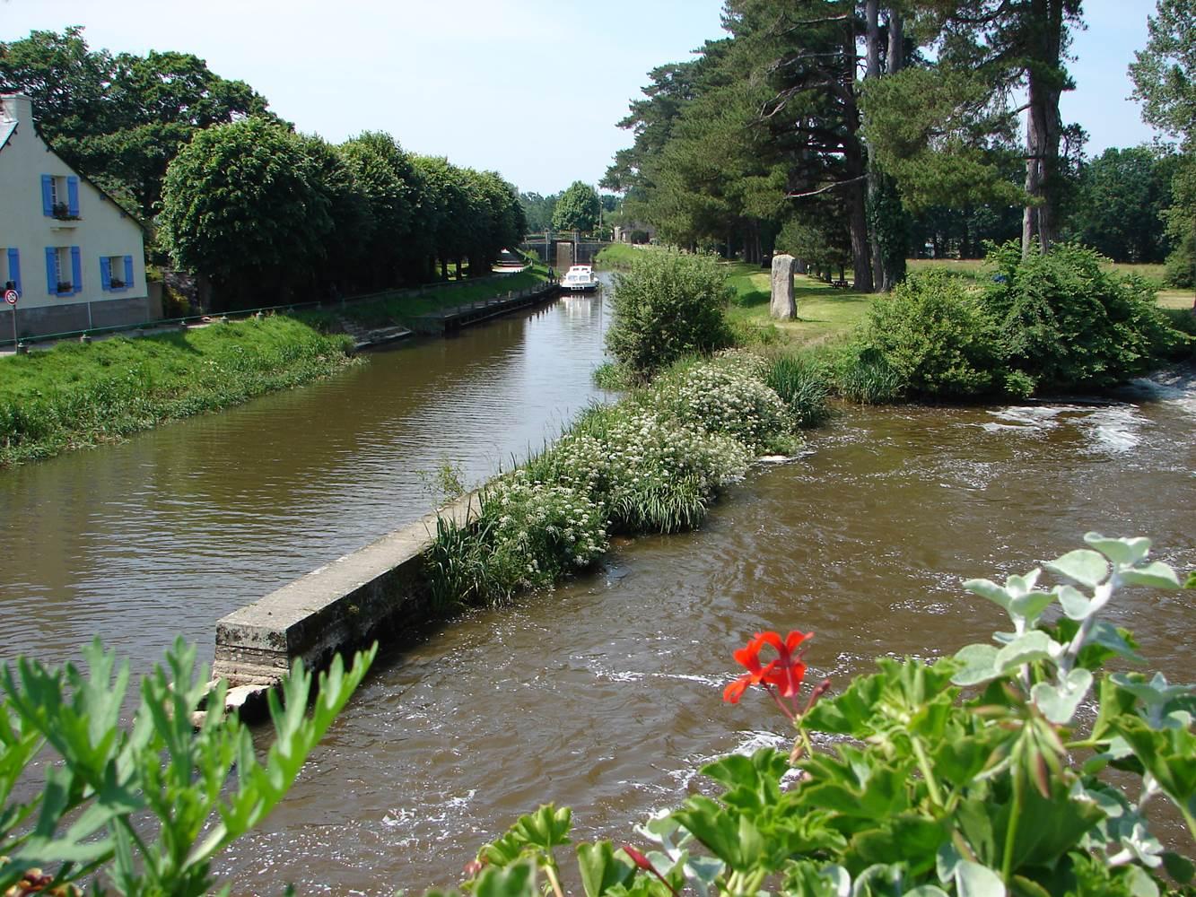 Canal à Malestroit ©