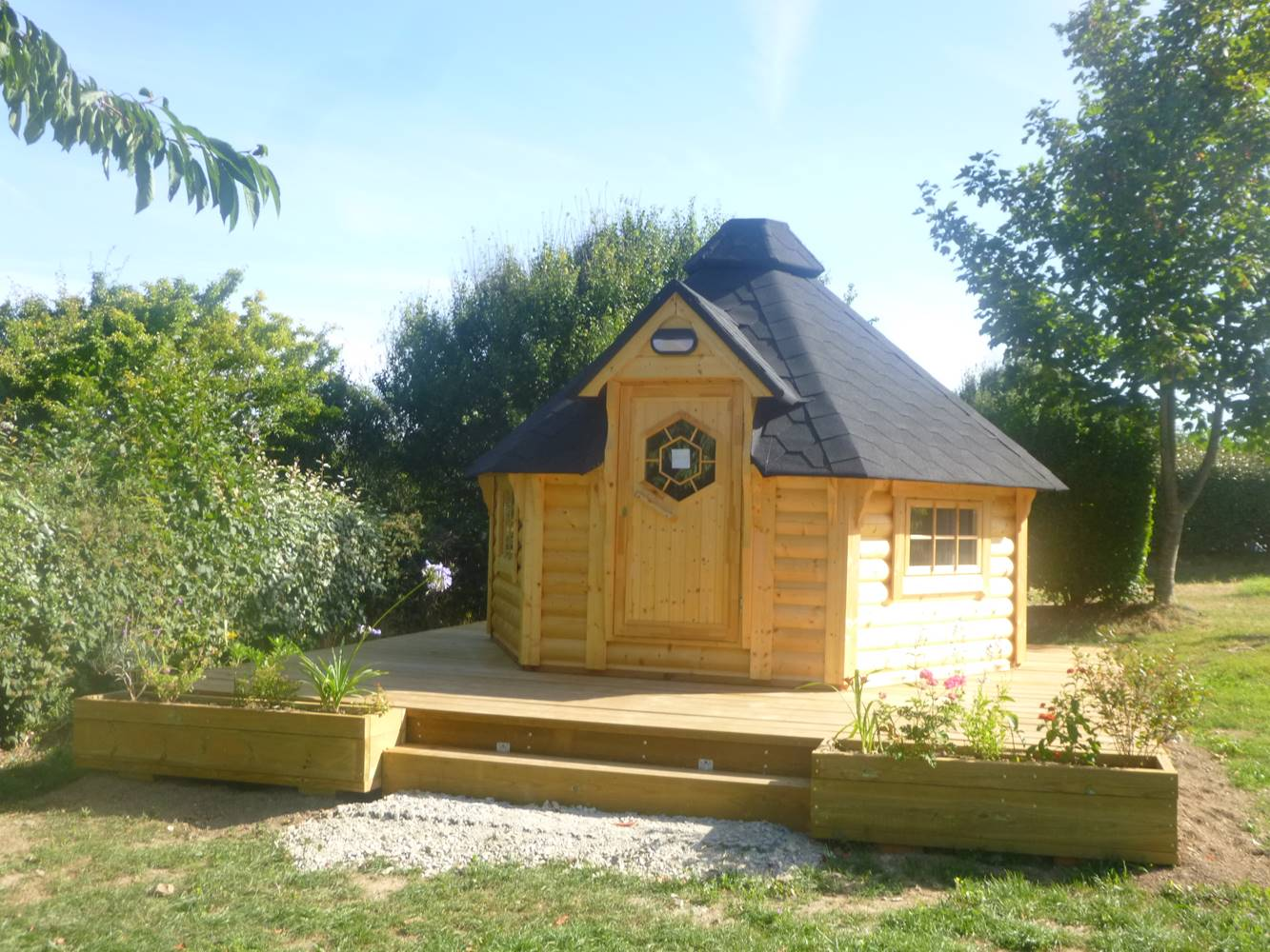 Location Cabane camping belle ile bretagne sud ©