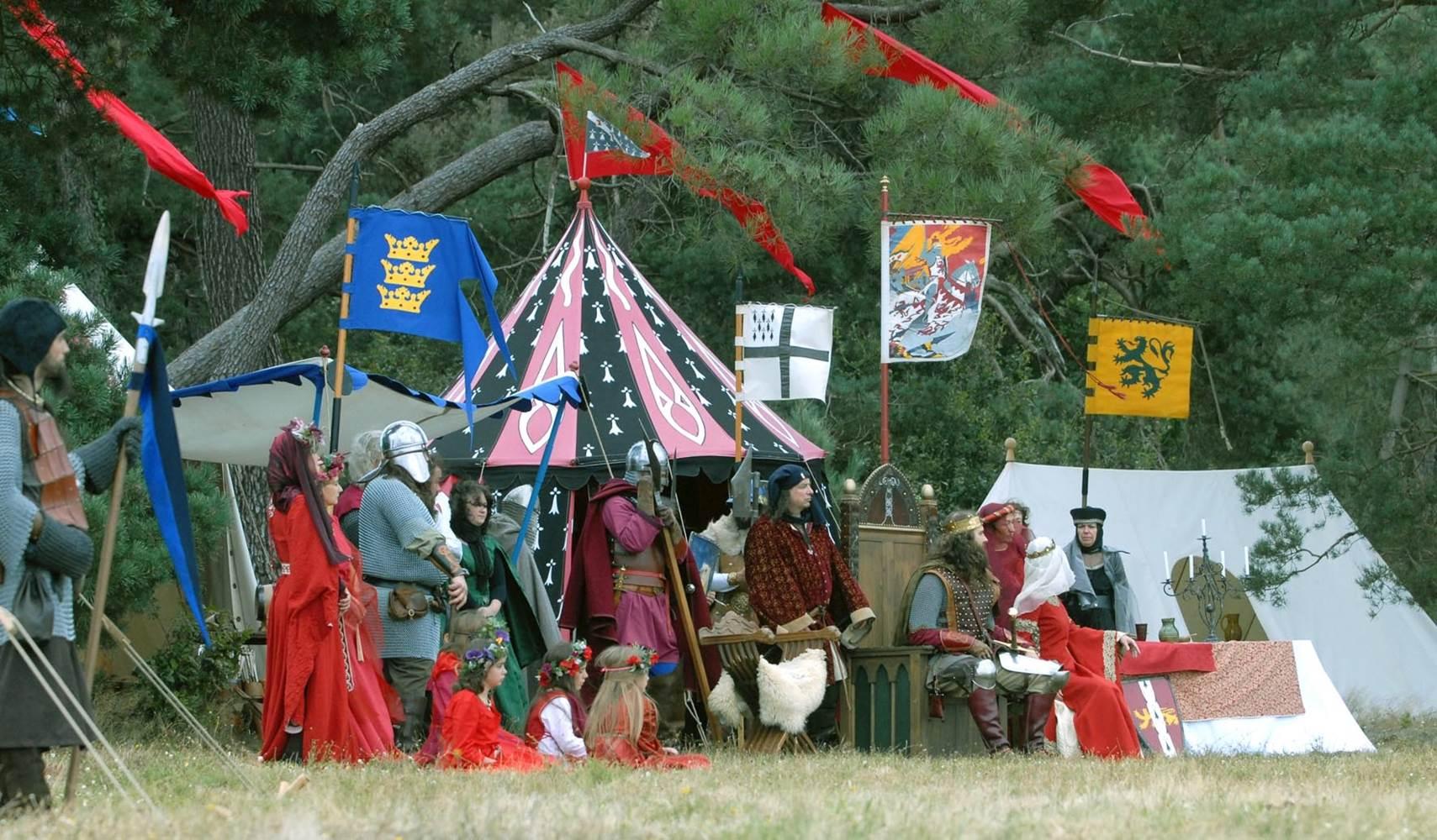 Camp d'Arthur © Centre de l'Imaginaire Arthurien