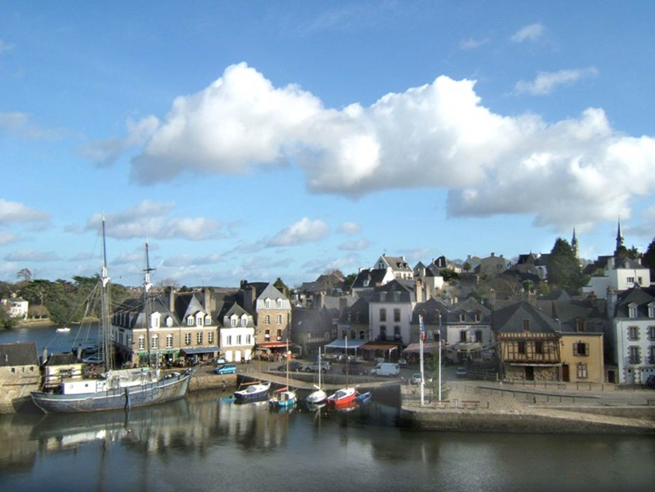 Auray-Morbihan-Bretagne-Sud © OTIPA