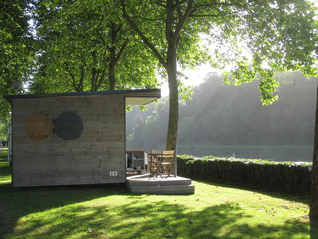 Le Cube-Camping Hennebont-Blavet-Lorient-Morbihan Bretagne Sud ©