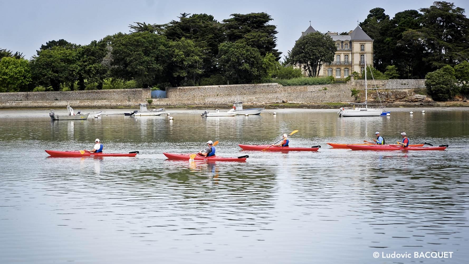 Kayak Le passage saint armel ELLOHA ©
