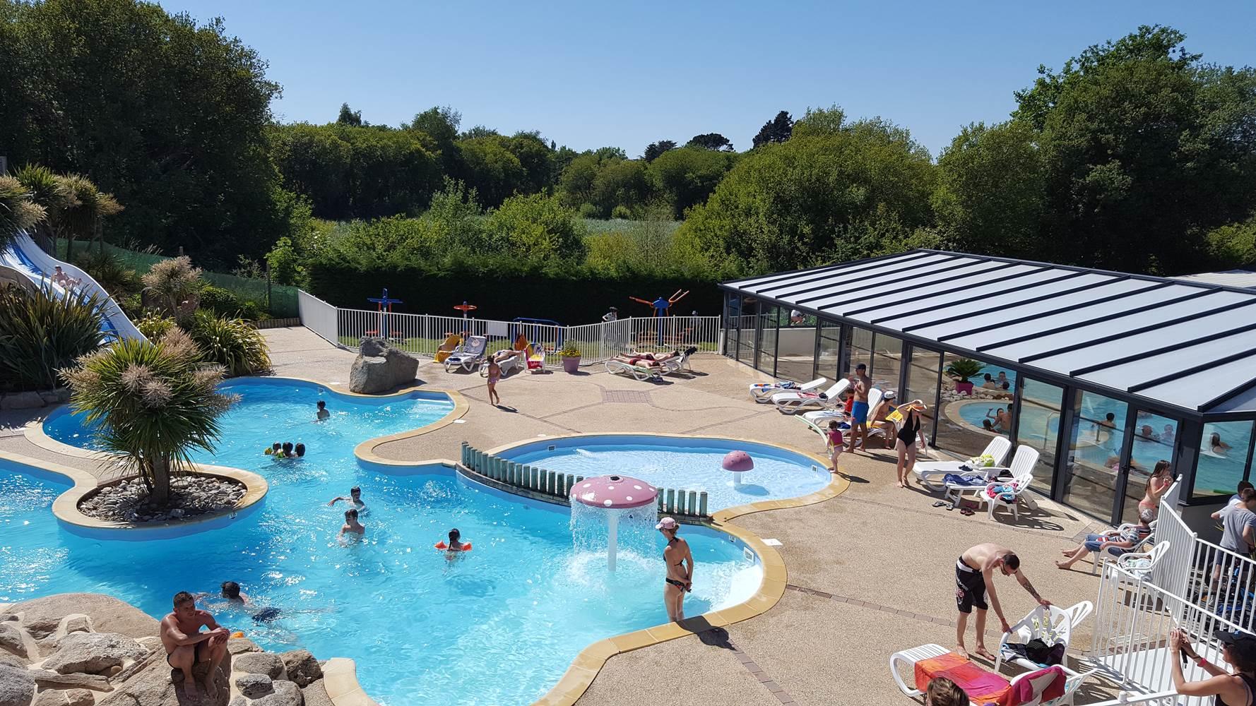 parc aquatique  camping pen palud Morbihan ©