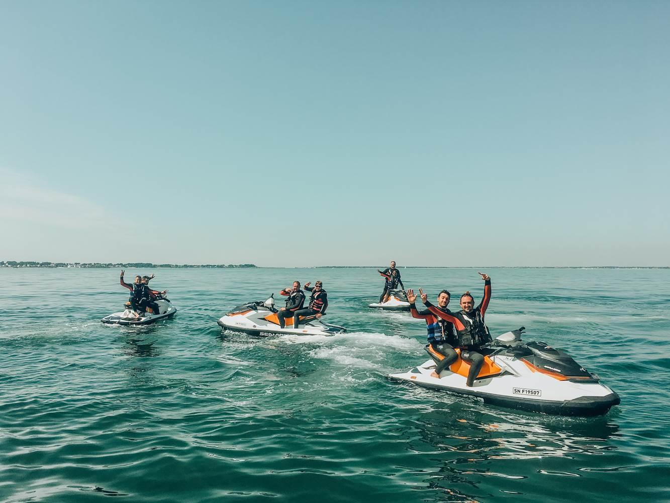 Nos randonnées vous emmènent dans la baie de Quiberon et dans le golfe du Morbihan ©