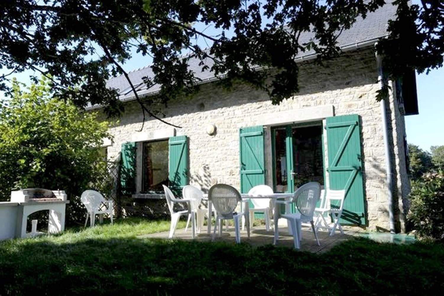 location-maison-Gestel-Lorient-Morbihan-Bretagne-Sud-4personnes-France © Domaine du Lain (le lilas des indes)