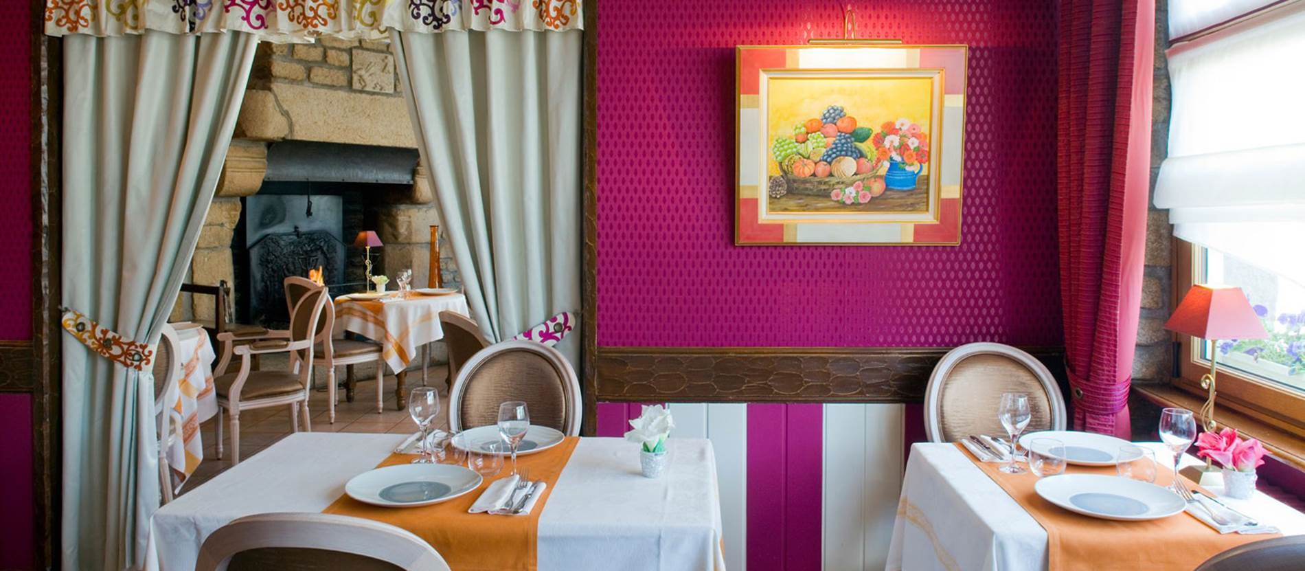Restaurant-Au-Relais-du-Porhoët-Guilliers-Morbihan-Bretagne-Sud © Restaurant Au Relais du Porhoët - Guilliers