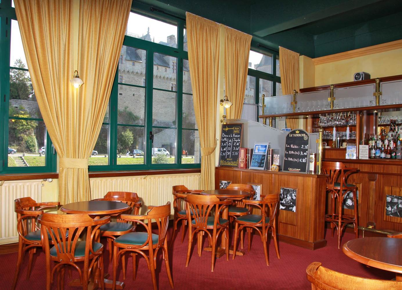 Hotel-Restaurant du Chateau - Josselin - Morbihan Bretagne Sud © Hotel-Restaurant du Chateau