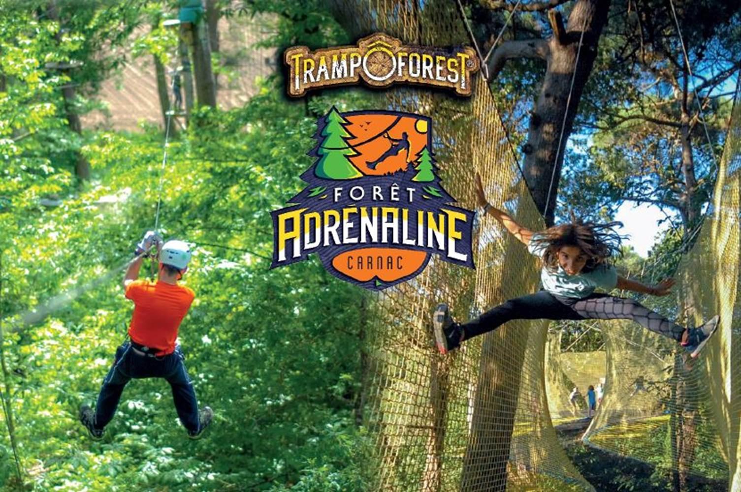 Parc Aventure FORET ADRENALINE - Carnac ©