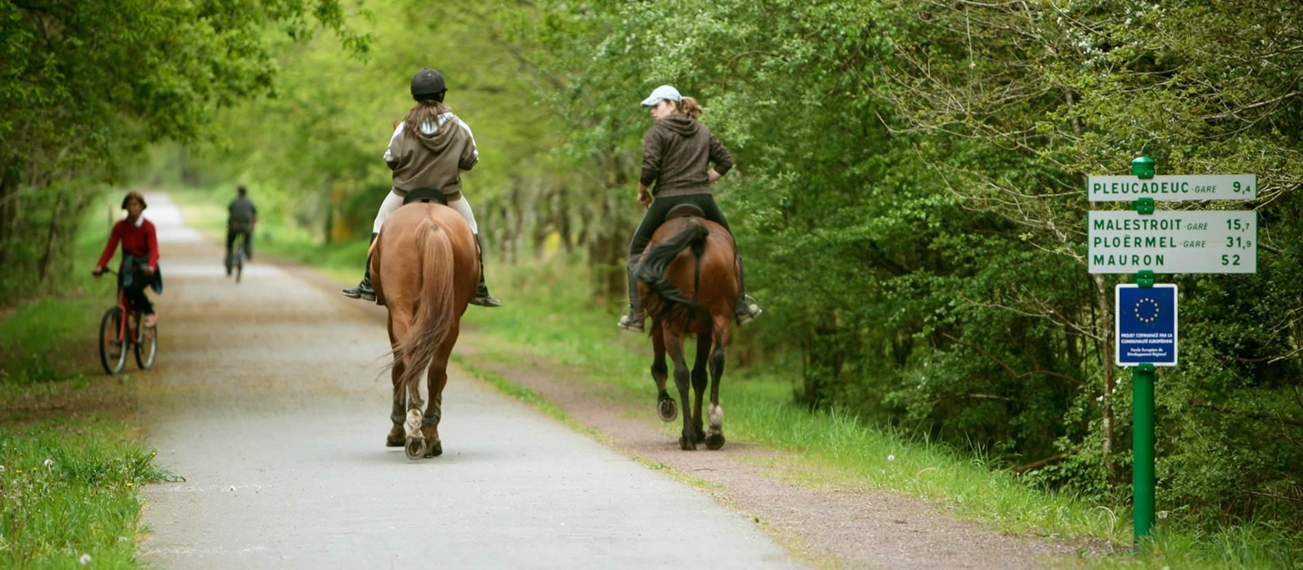 L'Equibreizh, la Bretagne à cheval © Morbihan Tourisme