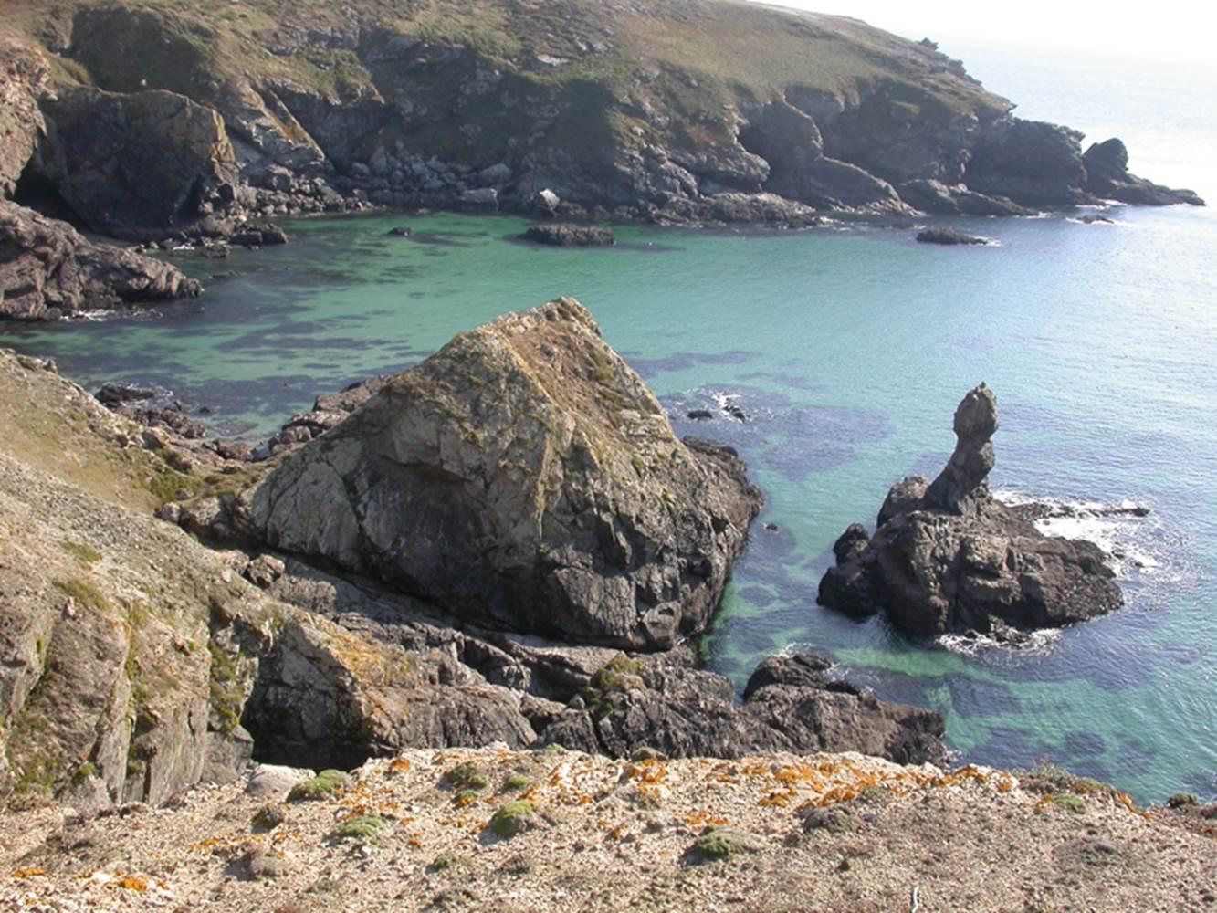 Site de la Pointe du Skeul - Locmaria - Belle-Ile - Morbihan Bretagne Sud ©