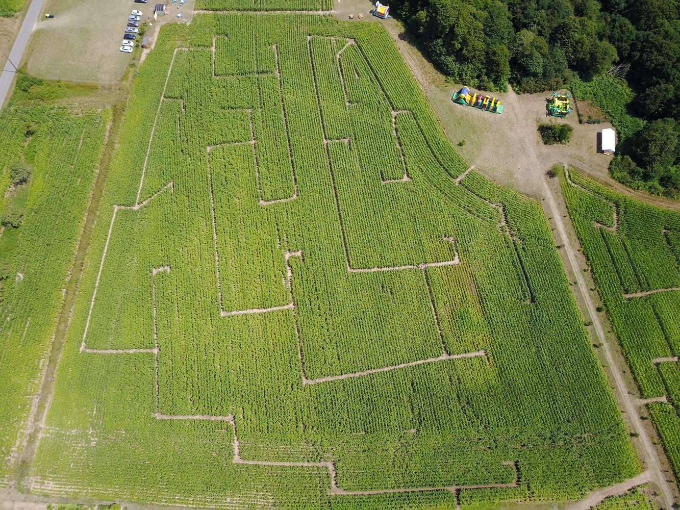 parc-labyrinthe ker ar C'Hoari Guidel-Lorient-Morbihan-Bretagne sud ©