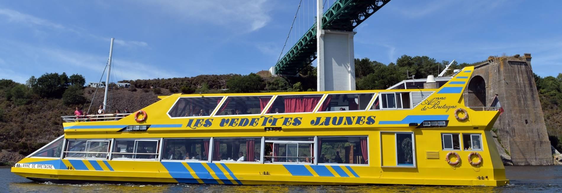 vedettes-jaunes-restaurant-croisieres-morbihan © ©M.Renac-Morbihan.com.