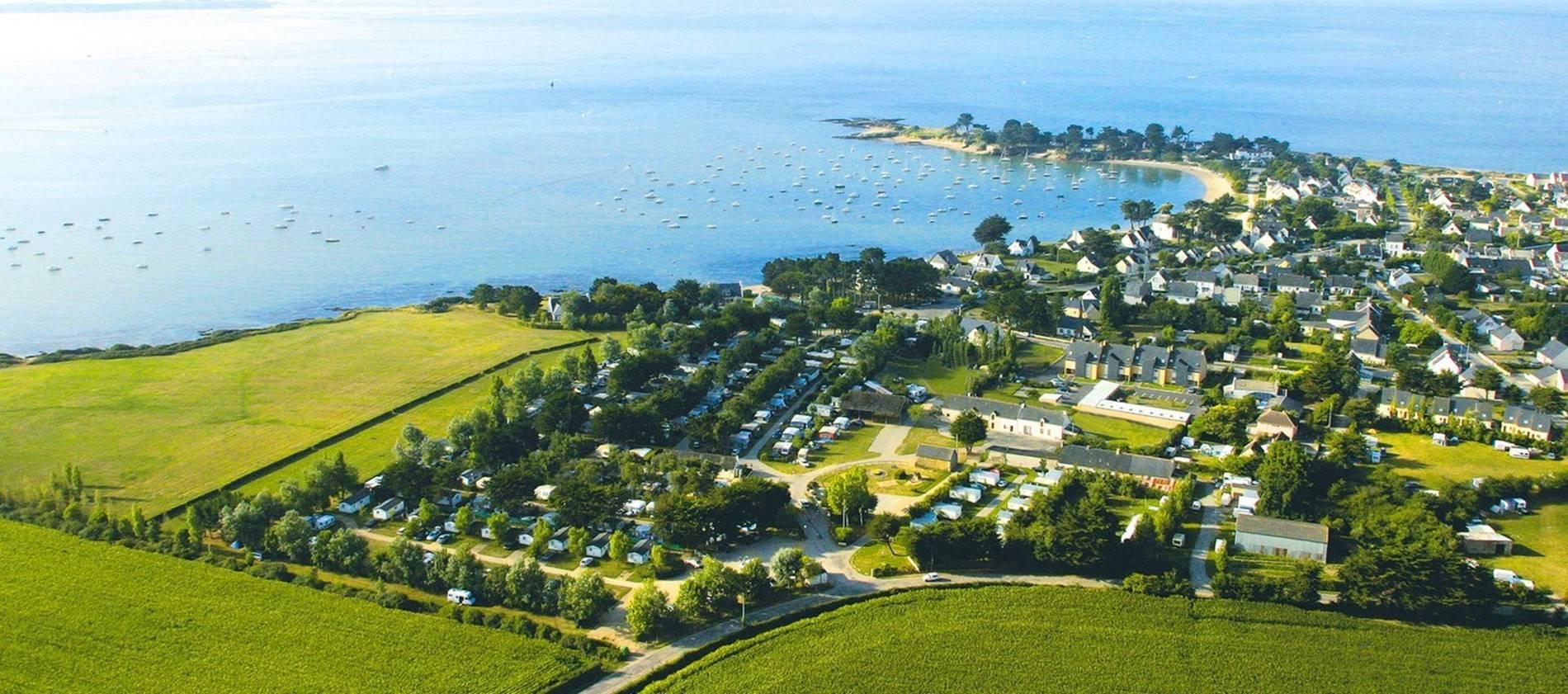 Camping-l-Oasis-Morbihan-Bretagne-Sud © ot