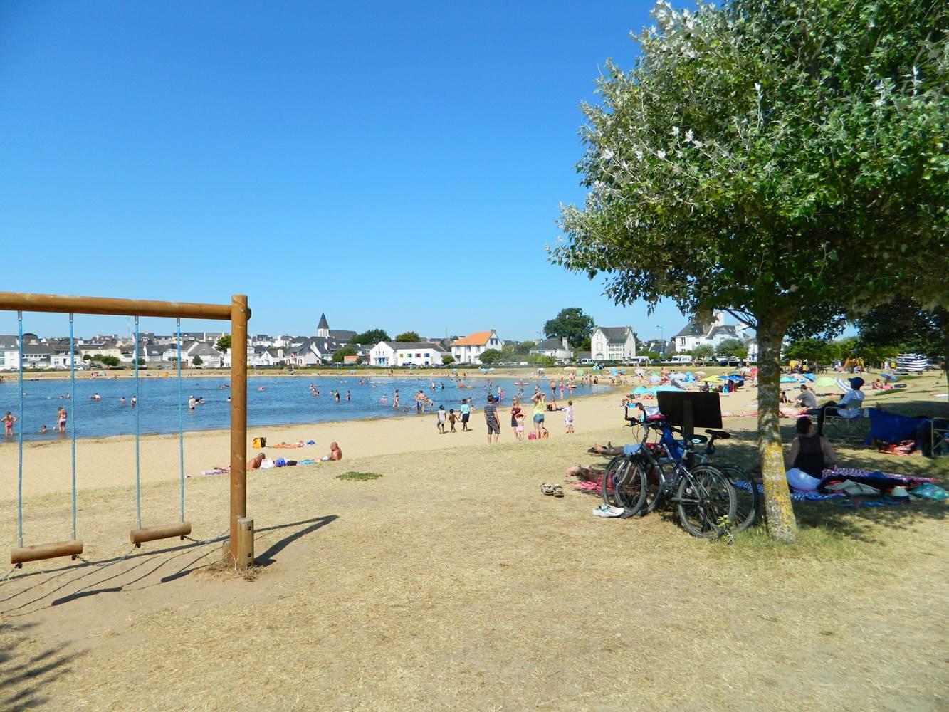 Plage des enfants - 2 - Etel - Morbihan Bretagne Sud © OTSI Baie de Quiberon