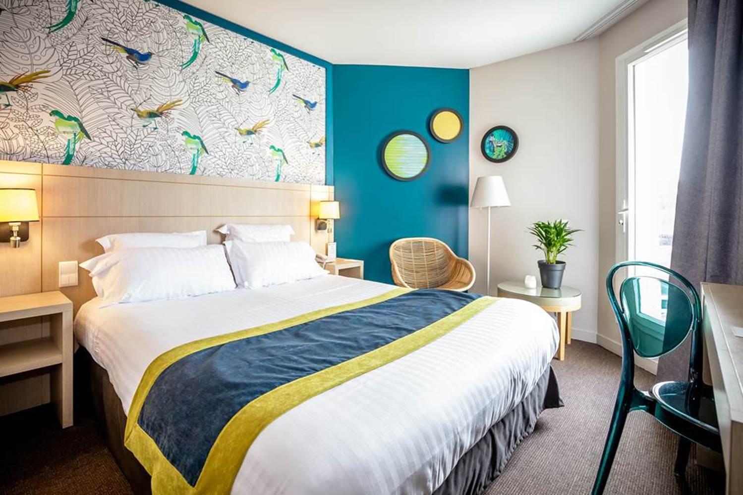 Chambre confort hôtel BEST WESTERN PLUS Vannes centre-ville ©