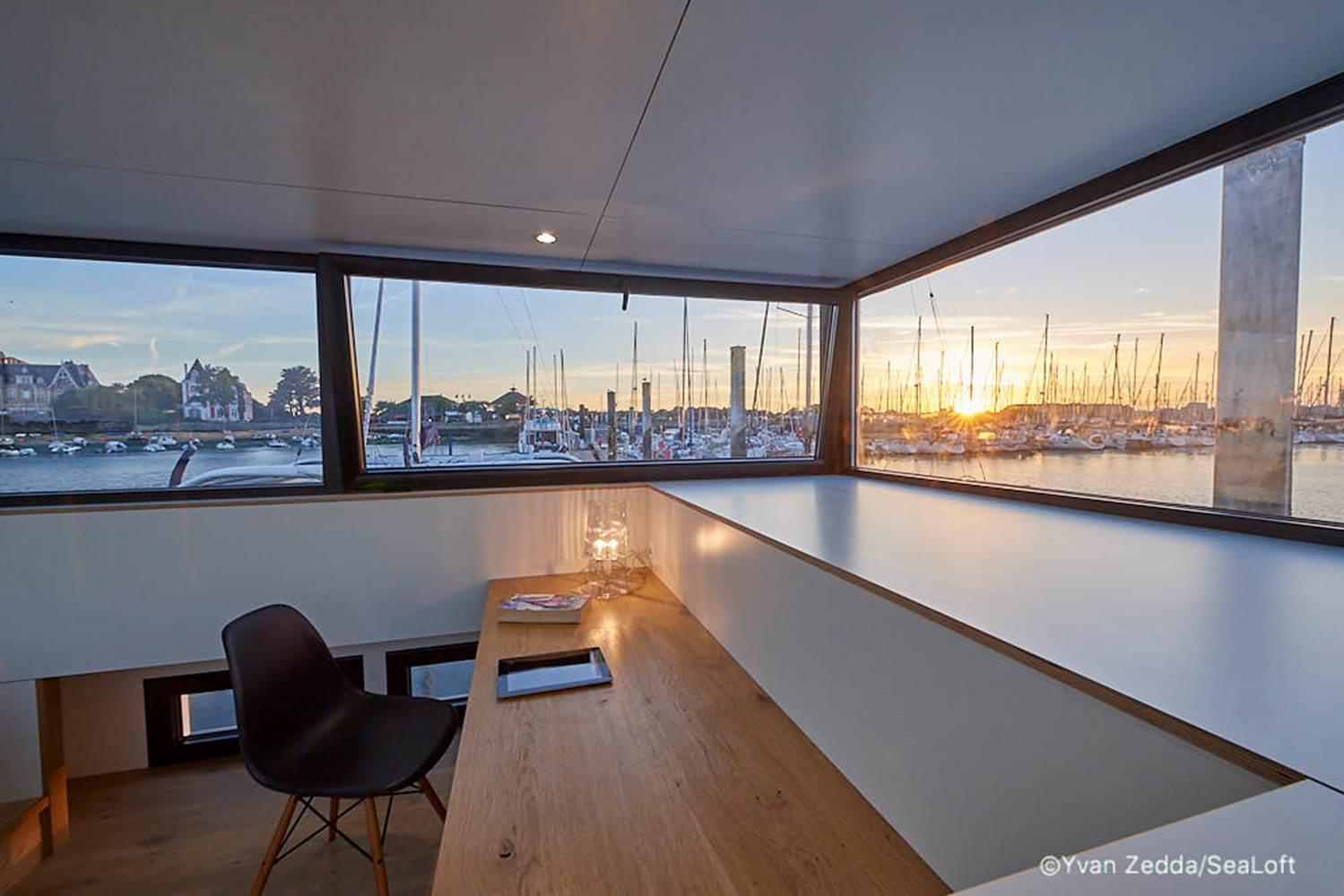 Lodge boat Lorient ©