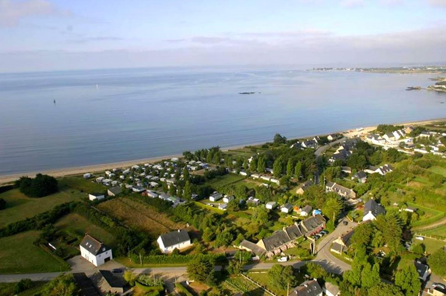 Camping Les Goelands-Face mer-Ambon-Tourisme Arc Sud Bretagne ©