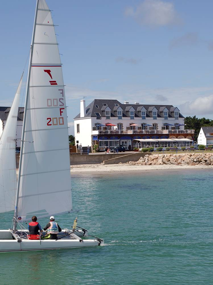 hôtel-restaurant-les-rochers-Carnac-Morbihan-Bretagne-Sud ©
