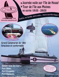Naviguez Anne Caseneuve, sortie voilier, �cole de voile