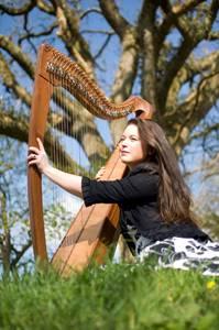 Concert de harpe par Nolwenn Arzel