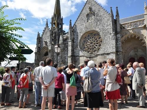 Un patrimoine pictural de Bretagne : l'église de Kernascléden