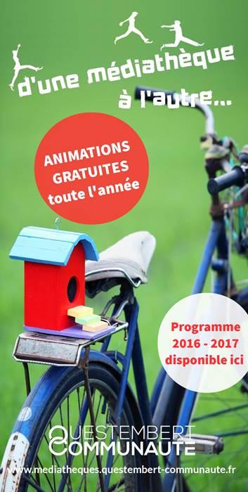 Animations des médiathèques du Pays de Questembert