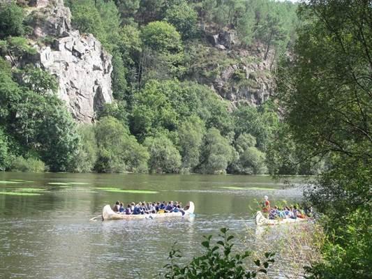 Location de canoë de l'ïle aux pies