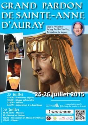 Affiche, Grand Pardon de Sainte Anne d'Auray