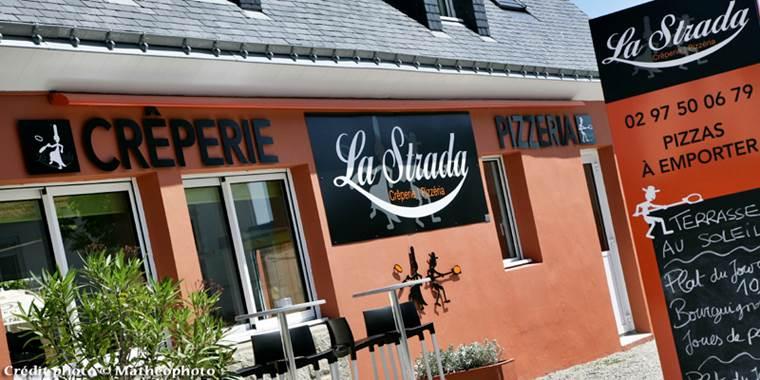 Restaurant La Strada-Quiberon ©
