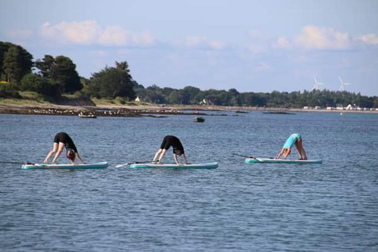 KKS-kite-surf-Paddle-yoga-Sarzeau-Morbihan-Bretagne Sud © Aucun
