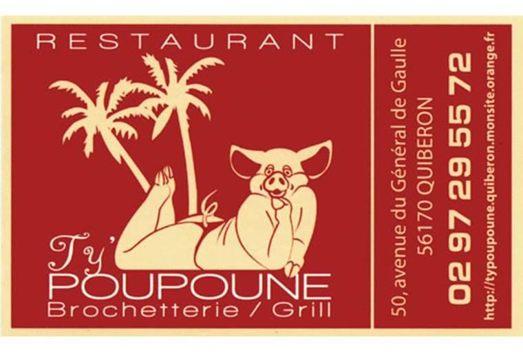 Restaurant-Ty-Poupoune-Quiberon-Morbihan-Bretagne-Sud © Ty Poupoune