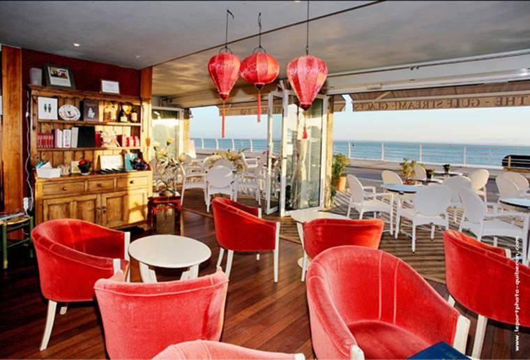 Salon de thé Le Gulf Stream-Quiberon-Morbihan-Bretagne Sud © Salon de thé Le Gulf Stream