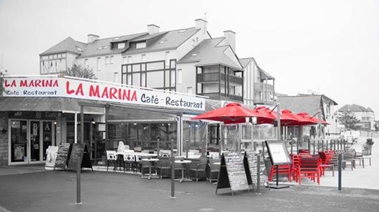 Restaurant-La-Marina-Arzon-Port-du-Crouesty-Presqu'île-de-Rhuys-Golfe-du-Morbihan-Bretagne sud © La Marina