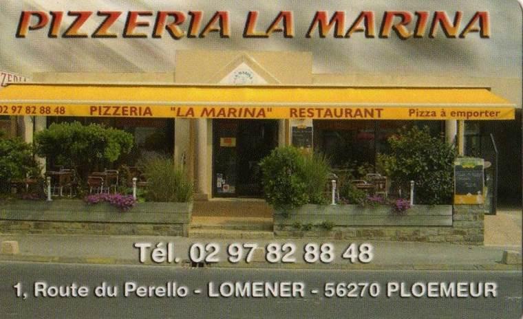 Pizzeria-La-Marine-Ploemeur-Groix-Lorient-Morbihan-Bretagne-Sud © Pizzeria La Marina