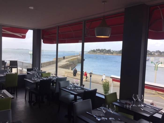 Restaurant-Côté-Mer-Port-Navalo-Arzon-Presqu'île-de-Rhuys-Golfe-du-Morbihan-Bretagne sud © Côté Mer