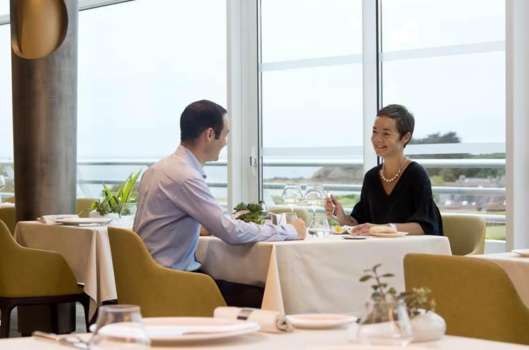 Restaurant-Gastronomique-Le-Safran-Miramar-La-Cigale-Arzon-Presqu'île-de-Rhuys-Golfe-du-Morbihan-Bretagne sud © Miramar La Cigale