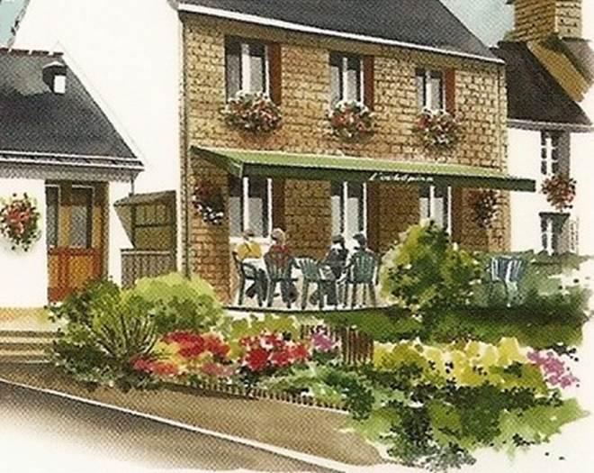 L'AUBEPINE - Assiette - Morbihan - Bretagne Sud © COMPAIN