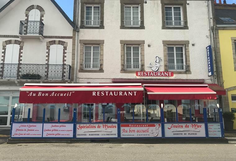 Restaurant au Bon Accueil-Quiberon-Morbihan-Bretagne Sud © Restaurant Au Bon Accueil