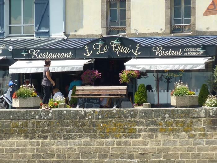 Restaurant Le Quai - La Trinité sur Mer - Morbihan Bretagne Sud © Le Quai