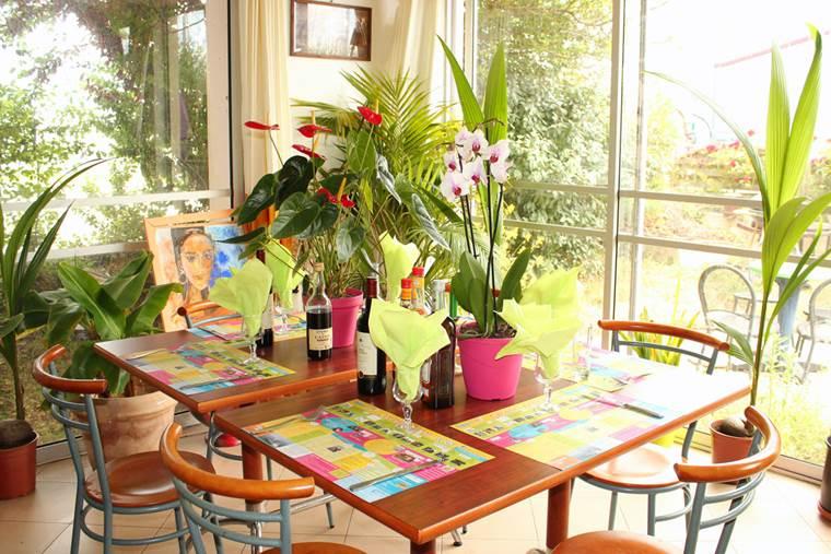 Salle-Restaurant-Oasis-Bretonne-arzon-morbihan-bretagne sud © Vert Mer