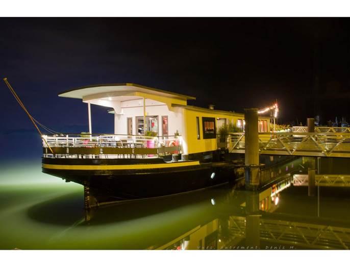 Restaurant-Piano-Barge-Vannes-Golfe-du-Morbihan-Bretagne sud © Piano Barge