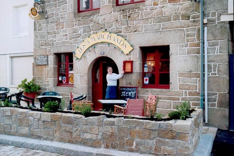 Restaurant Les Trois Marchands - Pays roi Morvan - Morbihan Bretagne Sud © Les Trois Marchands