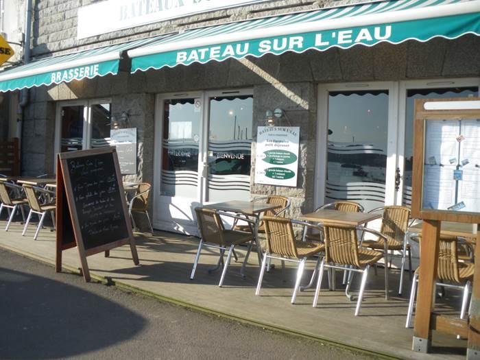 Restaurant-Bateaux-Sur-L-Eau-La-Trinite-sur-Mer-Morbihan-Bretagne-Sud © Restaurant Bateaux sur l'Eau