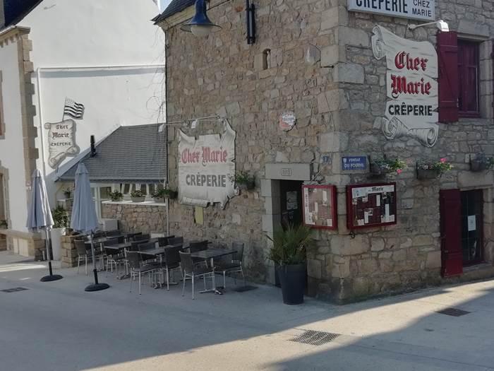 Crêperie Chez Marie-Carnac-Morbihan Bretagne sud © Crêperie Chez Marie