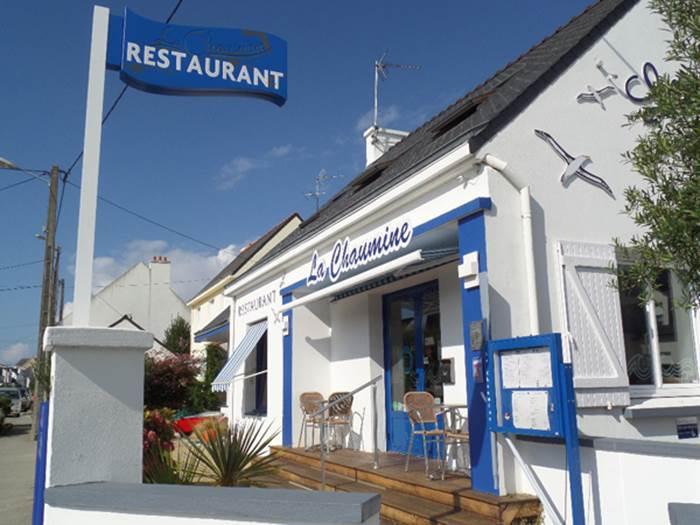 Restaurant La Chaumine-Quiberon-Morbihan-Bretagne Sud © Restaurant La Chaumine