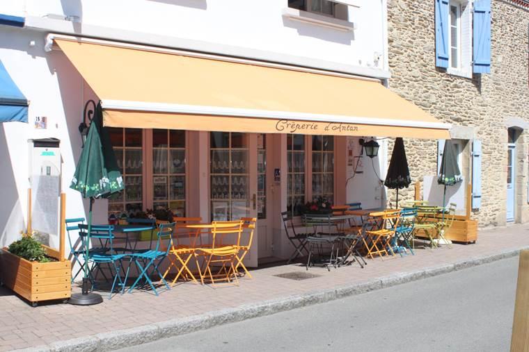 Crêperie d'Antan - Saint-Gildas-de-Rhuys-Morbihan-Bretagne Sud ©